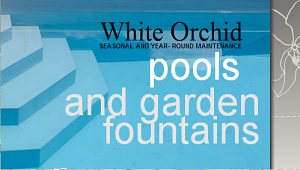 White Orchid Spanish company doing business in spheres of garden, pool and home maintenance